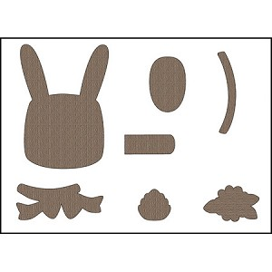 Bunny Treat Box Components Die Set