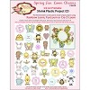 Spring Fun Loom Charms Shrink Plastic Project CD